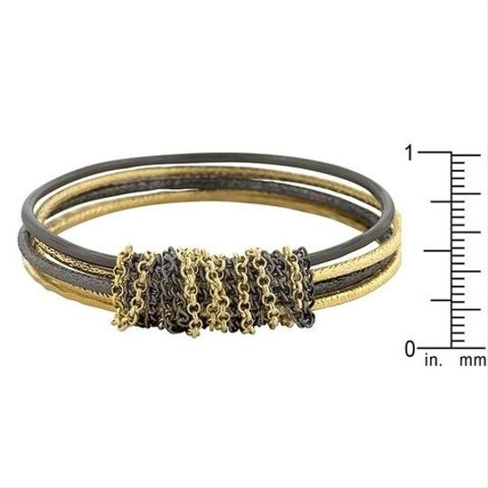 Other Textured Chain Bangles [SHIPS NEXT DAY] Image 1