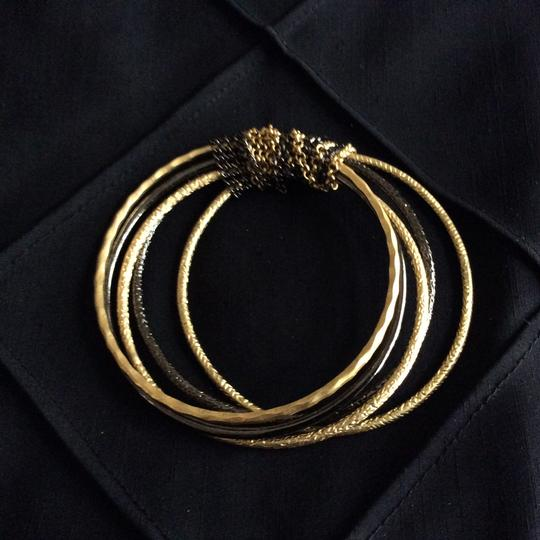 Other Textured Chain Bangles [SHIPS NEXT DAY] Image 2