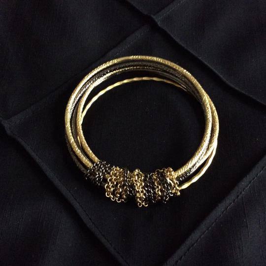 Other Textured Chain Bangles [SHIPS NEXT DAY] Image 3
