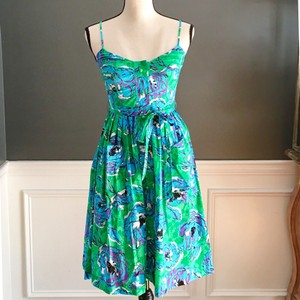 Plenty by Tracy Reese short dress Green on Tradesy