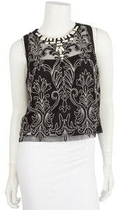 Nanette Lepore Top Black & White