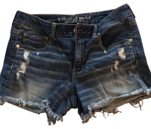 American Eagle Outfitters Cut Off Shorts Faded denim