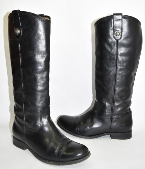 Frye Ridiing BLACK Boots Image 1