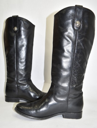 Frye Ridiing BLACK Boots Image 2