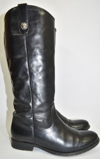 Frye Ridiing BLACK Boots Image 4