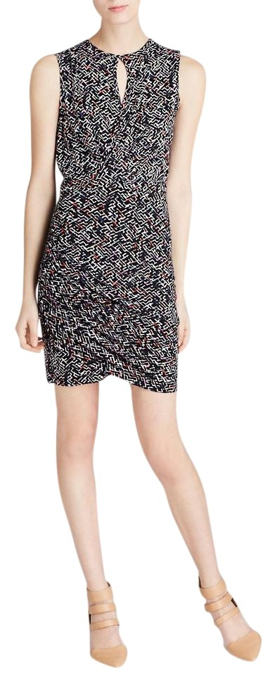 1223c5e507f French Connection Womens Confetti Grid Jersey Dress 71DHS Women