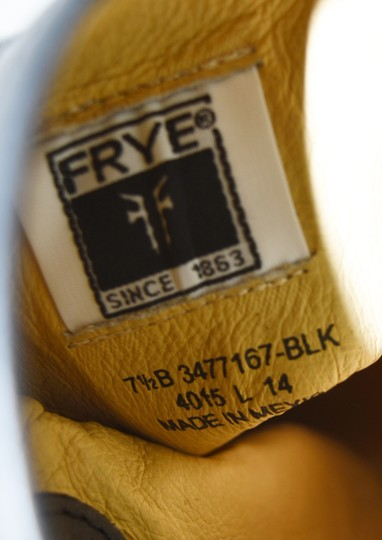 Frye Ridiing BLACK Boots Image 7