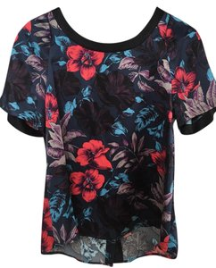 Marc by Marc Jacobs Silk Hawai Floral Top