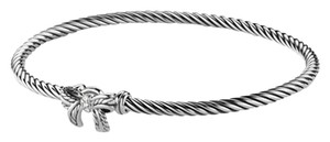 David Yurman Cable Collectible Ribbon Bracelet with Diamonds