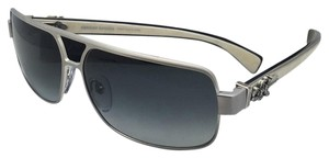 Chrome Hearts CHROME HEARTS Sunglasses TANK SLAPPER BS-WEPV Silver & Piano Varnish