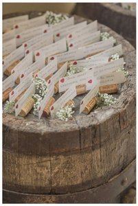 75 Wine Cork Placecard Holders