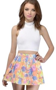 Tobi Mini Skirt Neon pink, orange, blue