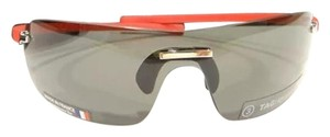 TAG Heuer Tag Heuer 5102 Rimless Sunglasses 103 Red / Grey Authentic
