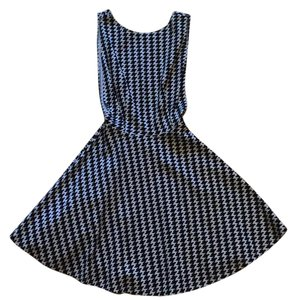 American Apparel short dress Houndstooth on Tradesy