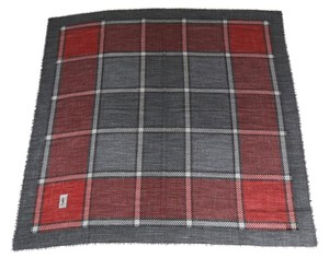 Saint Laurent Vintage Wool Striped Scarf