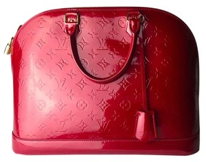 Louis Vuitton Lv Satchel in red