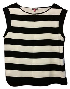 Vince Camuto Top Navy/white stripe