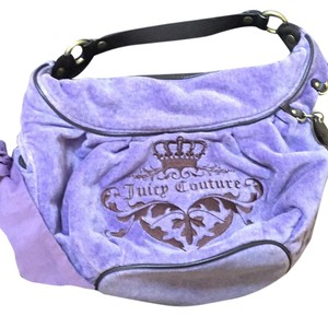 Juicy Couture Satchel in Violet