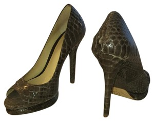 Alexandre Birman Grey dark purple Platforms