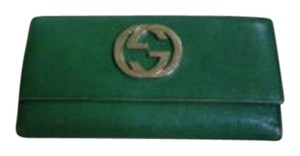 Gucci GUCCI CONTINENTIAL GREEN WALLET GG TOM FORD ERA $595