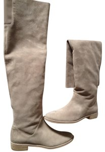 Stuart Weitzman Slouchy Over The Knee Fossil Suede Boots
