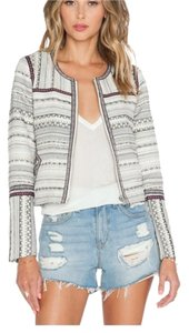 Tularosa White, black and red Jacket