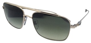 Chrome Hearts CHROME HEARTS Sunglasses BANGOVER GP Gold Aviator Frame w/Green Fade