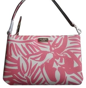 Kate Spade Wallet Wristlet in Pink/White Print