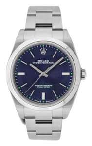 Rolex ROLEX OYSTER PERPETUAL STEEL BLUE DIAL 39MM WATCH 114300 BLSO