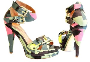 Blumarine green Sandals