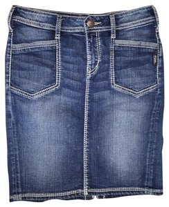 Silver Jeans Co. Skirt Blue