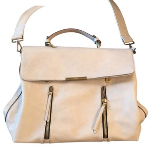 Free People Beige Messenger Bag