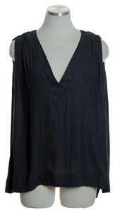 Free People Woven Lined Sleeveless Top Black