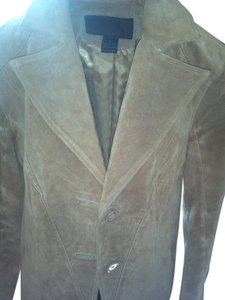 Sierra Beige Leather Jacket