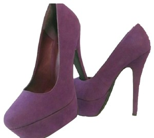 Derek Heart Purple Platforms