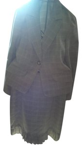 KC Spencer Plaid Suit