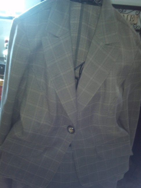 KC Spencer Plaid Suit Image 1