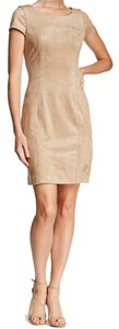 Nanette Lepore short dress beige on Tradesy