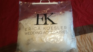 Erica Koesler Beautiful Cathedral Length Veil!