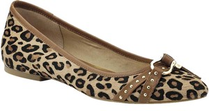 Sperry Pony Hair Pointed Toe Leopard Flats