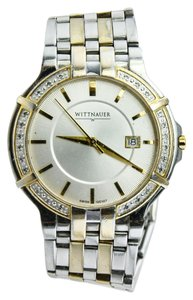 Whittnauer Whittnauer Two Tone Diamond Bezel Watch