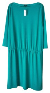Talbots short dress Green Petite X-large New With Tags on Tradesy