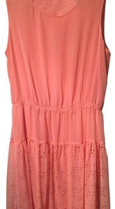 Gianni Bini short dress Coral on Tradesy