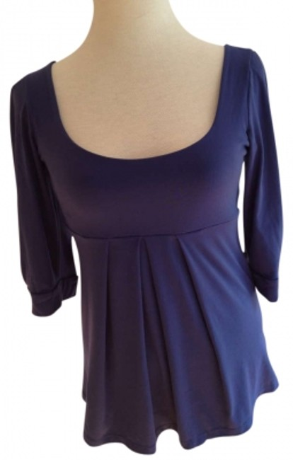 Susana Monaco Empire Waist T Shirt royal blue