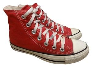 Converse red Boots