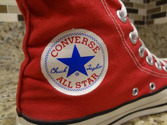 Converse red Boots Image 2