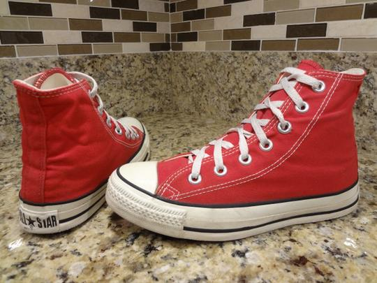 Converse red Boots Image 3
