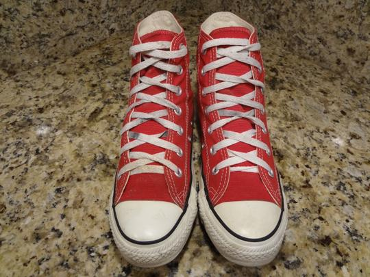 Converse red Boots Image 6