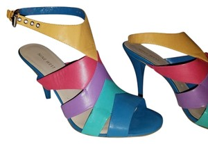 Nine West Multi Colored Sandals