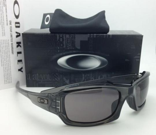 Oakley Authentic OAKLEY Sunglasses FIVES SQUARED OO9238-05 Grey Smoke w/Grey Image 2